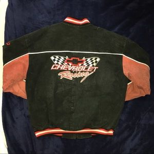 Vintage 1990s NASCAR Chevy Racing Jacket